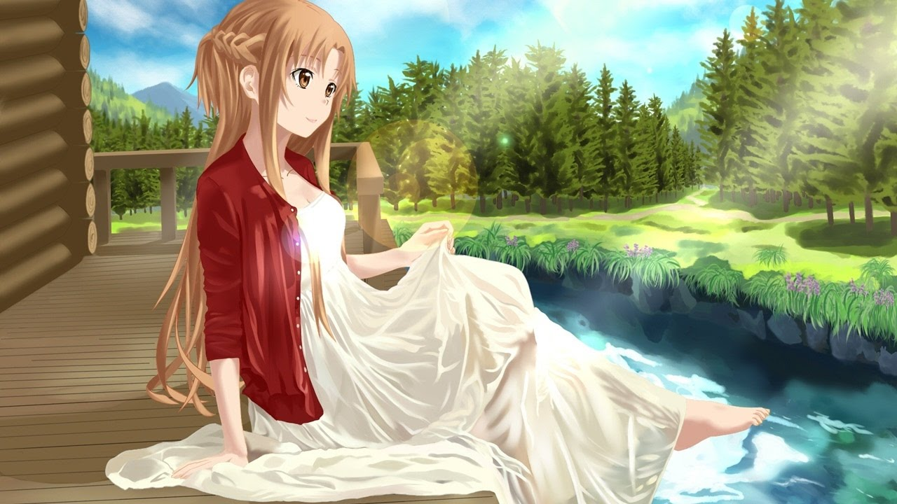 Sword Art Online Animated Wallpaper 1 Hour Sword Art Online Soundtrack Beautiful Amp Emotional