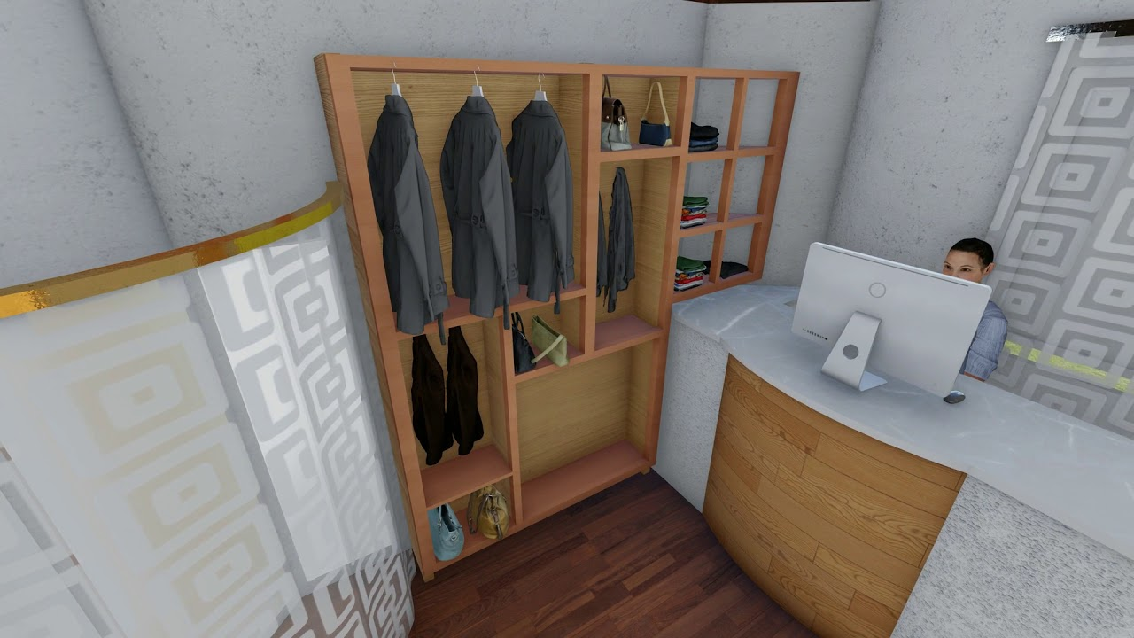 Small Clothes Store Design Youtube