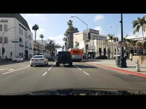 (Part 1 of 3)Best Los Angeles Driving Tour Including UCLA, 2 Ocean Piers and Venice Beach Canals