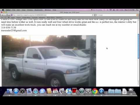Craigslist Iowa Used Cars for Sale by Owner