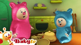 Repeat youtube video Billy Bam Bam Making Music with Cymbals | BabyTV