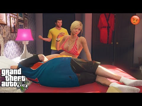 GTA 5 - What Tracey And Jimmy Do In Tracey's Locked Room (Michael Caught Them)