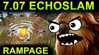 MONSTER EARTHSHAKER - DOTA 2 PATCH 7.07 NEW META PRO GAMEPLAY ITEMS...