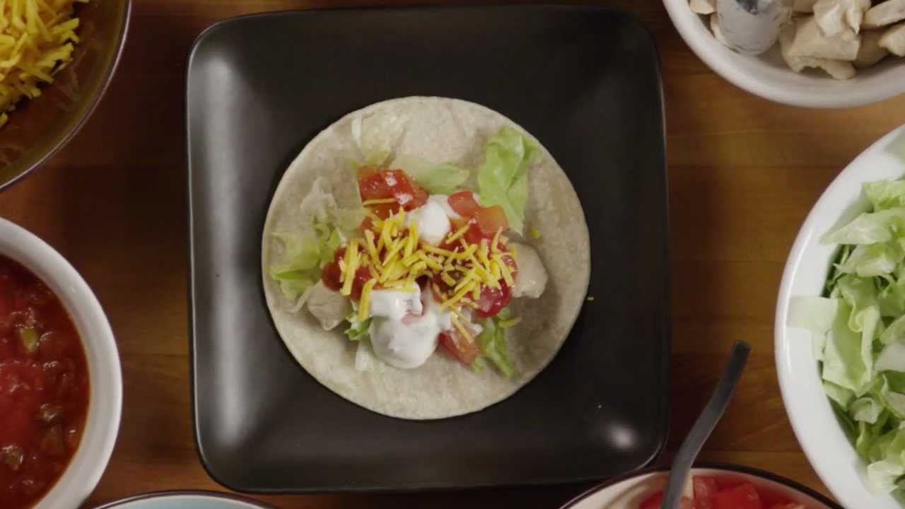 how to make real chicken tacos