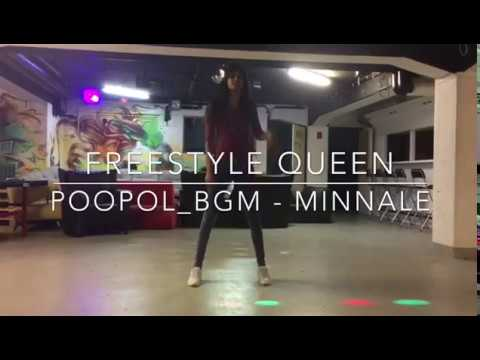 MINNALE - POOPOL BGM DANCE | FREESTYLE | Harris Jayaraj | Freesytle Queen Dily