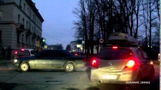Авария на переезде в Царском селе (г. Пушкин)