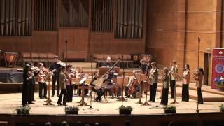 EUBO 2009 and Petra Muellejans perform Vivaldi's 4 violin concerto in Sofia, Bulgaria