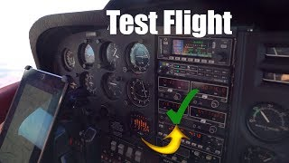 Test Flying Our Cessna 182 After Maintenance + Tips On How To Lean An Aircraft