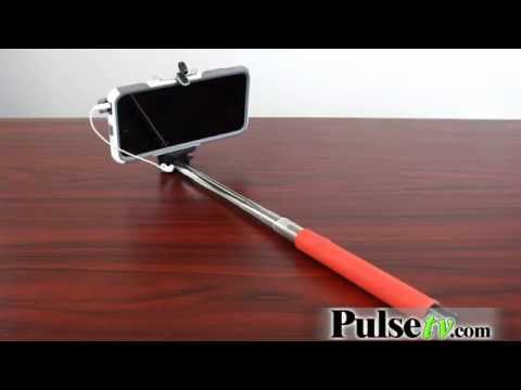 Selfie Stick with Built-In Button