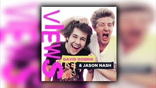 David's First Sloppy Kiss (Podcast #21) | VIEWS with David Dobrik & Jason Nash