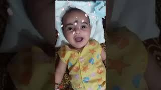 Very Cute Baby Girl | New WhatsApp status | Cute Baby Girl Smile Full Screen Status