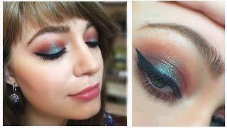 Вечерний макияж: видео-урок / Make Up look feat. Insomnia Pigment