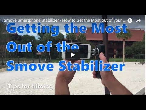 SMOVE: Smartphone Stabilizers and Powerbank in One