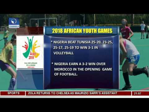 Daniel Madurai Wins Silver Medal In 2018 African Youth Games | Sports Tonight |