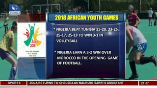 Daniel Madurai Wins Silver Medal In 2018 African Youth Games   Sports Tonight  