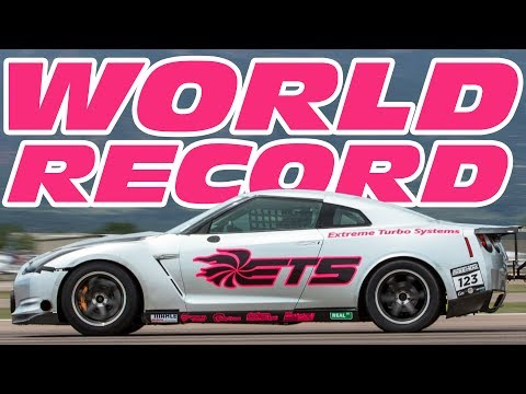 The FASTEST GT-R in The WORLD 🌎  (3,000 Horsepower!)