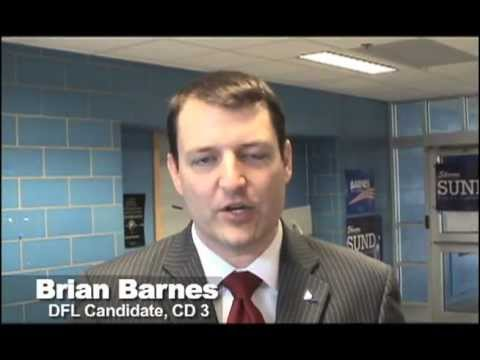 Brian Barnes - DFL CD 3 Candidate for Congress