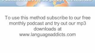 Language Addicts Greek demo