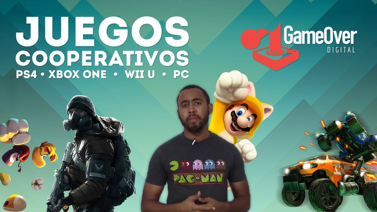 8 Juegos Cooperativos Ps4 Xbox One Wii U Y Pc Youtube