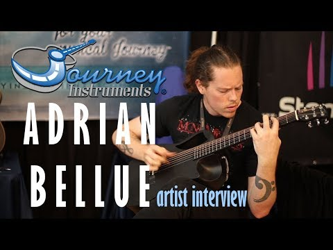 Adrian Bellue - Performance/Interview - Journey Instruments Artist
