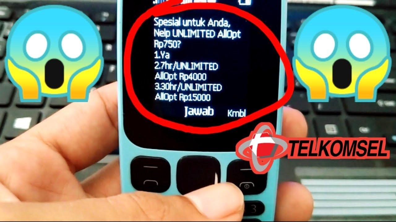 Dial Paket Nelpon Murah Telkomsel dan Paket Internet Combo Sakti Telkomsel Unlimited