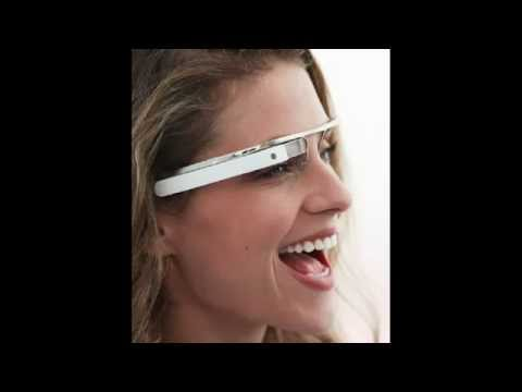 32872dda1 كيف تعمل google glasses نظارة جوجل الواقعية - YouTube