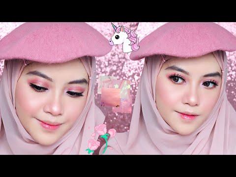 Sweet Pink Makeup Tutorial (Bahasa Indonesia)   Shafira Eden