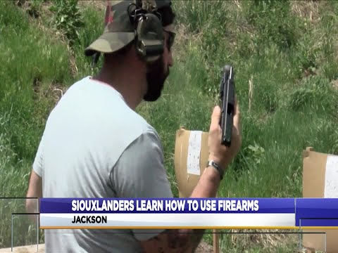Siouxlanders Learn To Shoot Firearms