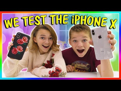 HOW DO WE LIKE THE iPHONE X ?!?! | We Are The Davises