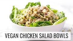 "VEGAN ""CHICKEN"" SALAD BOWLS 