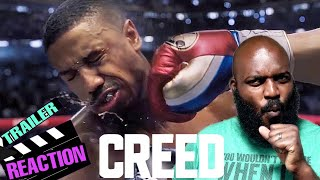 CREED 2 OFFICIAL TRAILER REACTION! / MINORITY ROCKY RETURNS!
