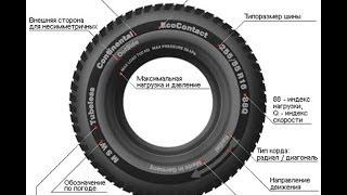 Надписи на автомобильном колесе - как читать надписи на автомобильном колесе