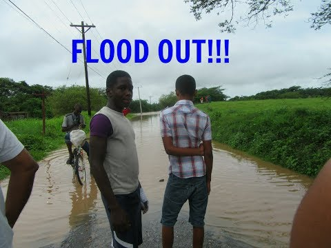 FLOODING IN JAMAICA (CLARENDON) - Day2