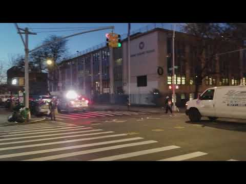 NYPD Responding In The Mott Haven Section Of The Bronx, NY