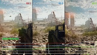 Battlefield 4: GeForce GTX 860M 720p vs 900p vs 1080p Frame-Rate Test