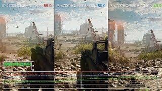 Battlefield 4: GeForce GTX 860M 720p vs 900p vs 1080p Frame-Rate Test