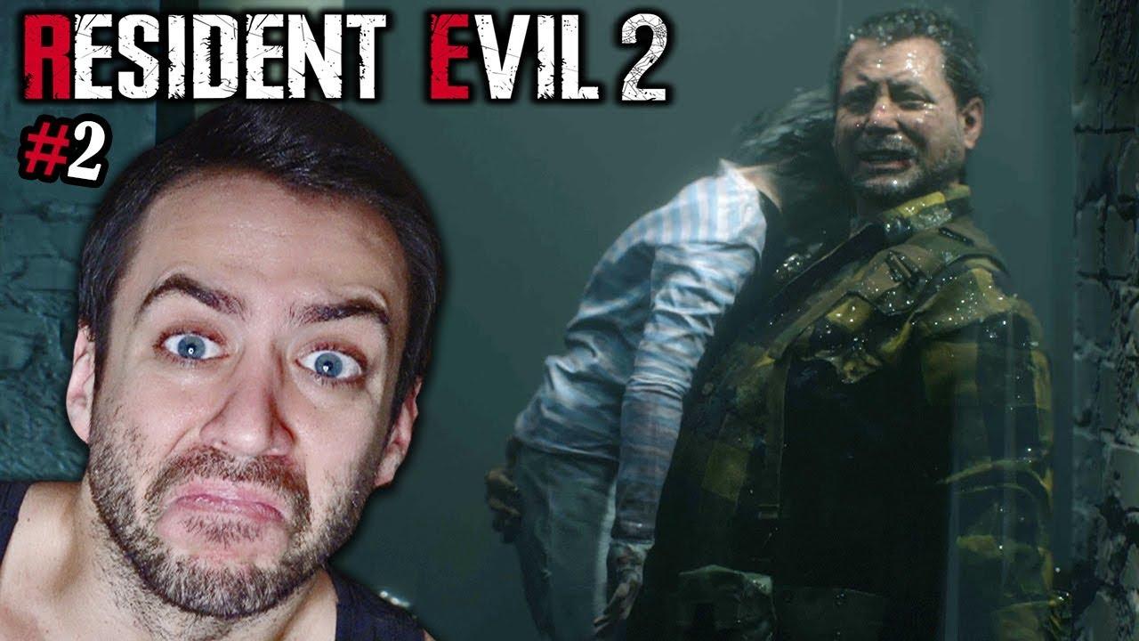 SI ESTA ESCENA NO TE HACE LLORAR, ME CORTO EL P*ENIS   Resident Evil 2  Remake #2