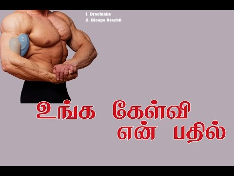 (Q&A):Tamil - தமிழில் : Squat, Sleeping, Showering, Supplements, weightloss, Biceps