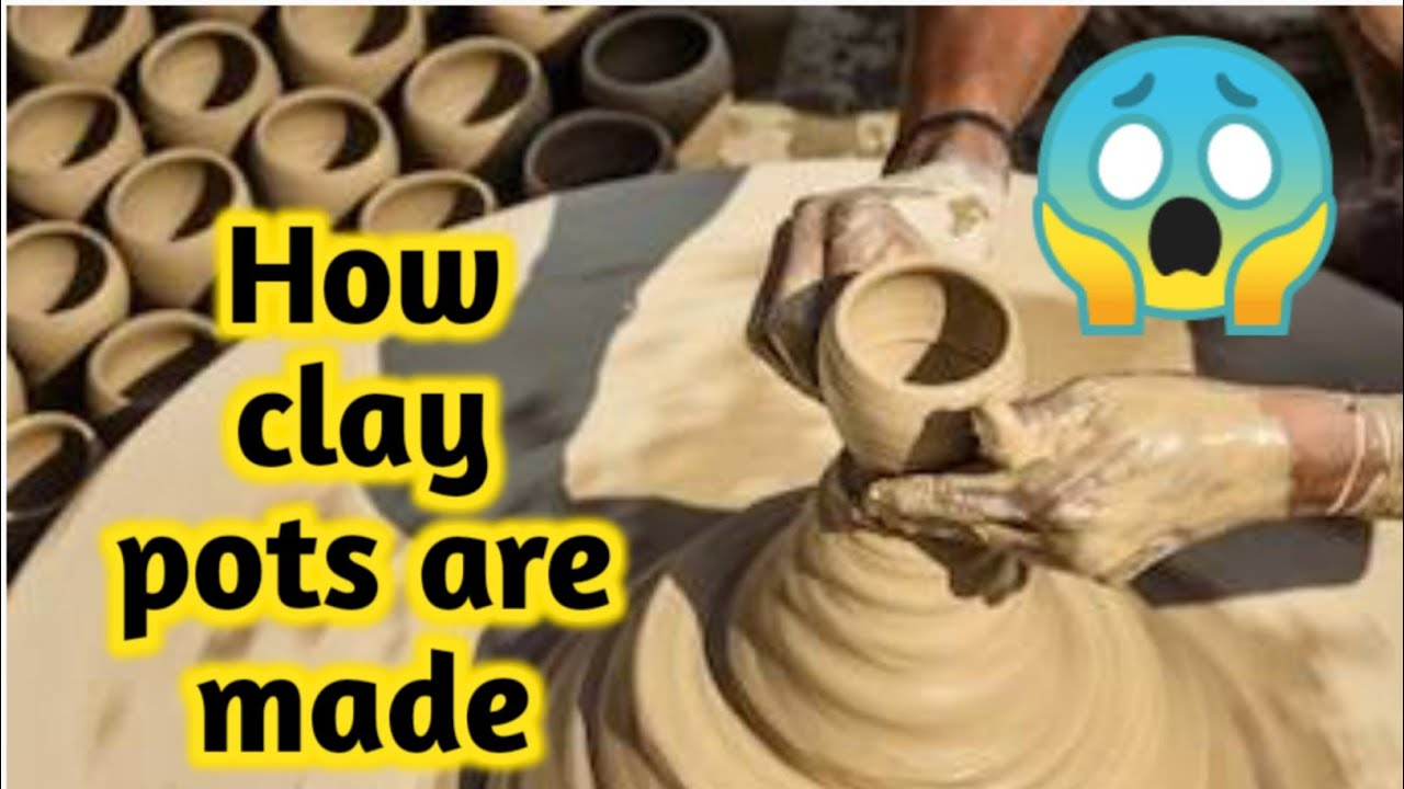 Clay pottery|Making/throwing pottery on wheel|How clay pots are made|Clay pottery making tutorial