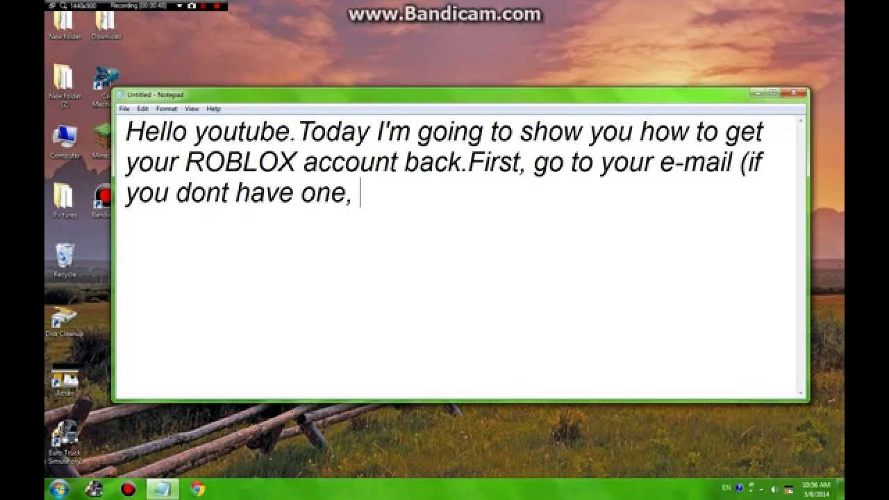 roblox how to change your password