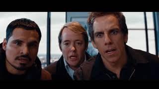 Момент из фильма ''Как украсть небоскреб'' - Слайд предает ребят.