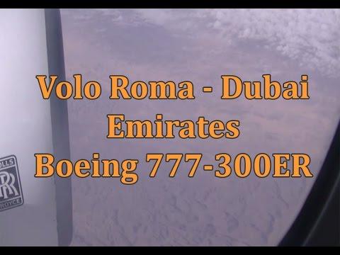 Volo Roma - Dubai | Emirates - Boeing 777-300ER
