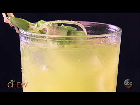 Clinton's Pineapple-Tequila Cooler Recipe | The Chew