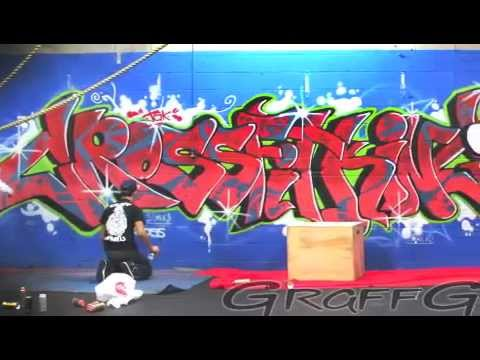 Graffiti Burner For CrossFit King Of Island Park Gym GRAFFGENIUSCo Araab Muzik