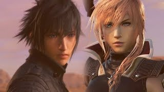 Noctis meets Lightning for the First Time | Dissidia Final Fantasy NT