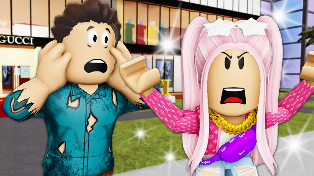 Download The GOLD Digger Wife! A Roblox Movie