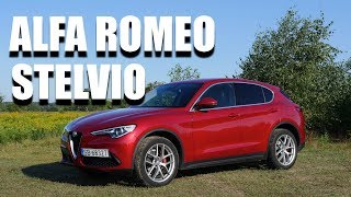 Alfa Romeo Stelvio 280HP (ENG) - Test Drive and Review