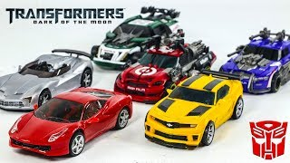 Transformers Movie 3 Autobots Bumblebee Sideswipe Dino Roadbuster Topspin Leadfoot Car Robot Toys