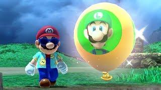 Super Mario Odyssey - Luigi