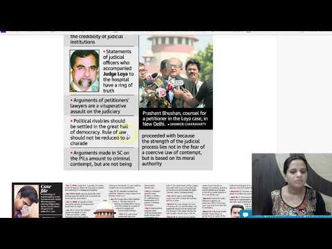 20 April 2018 - Daily The Hindu Current Affairs IAS 2018 - Mrs. Bilquees Khatri